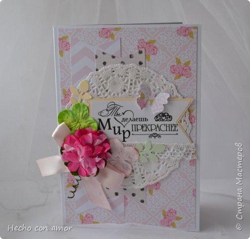Сначала свадебные открытки Эта моя любимая:))) фото 26