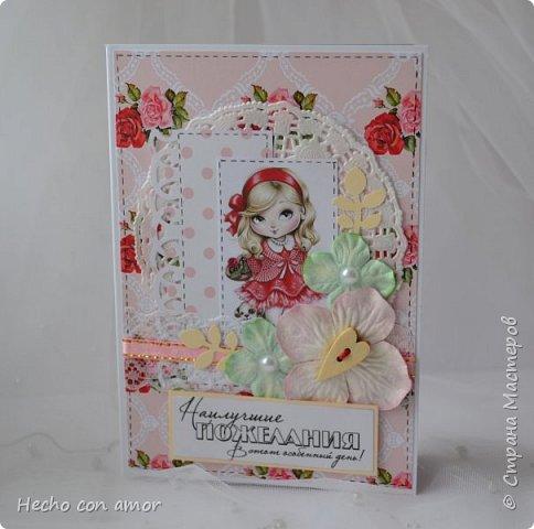 Сначала свадебные открытки Эта моя любимая:))) фото 28