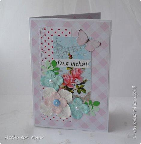 Сначала свадебные открытки Эта моя любимая:))) фото 31