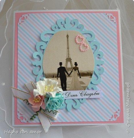 Сначала свадебные открытки Эта моя любимая:))) фото 3