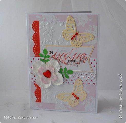 Сначала свадебные открытки Эта моя любимая:))) фото 18
