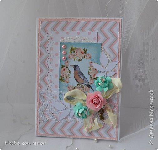 Сначала свадебные открытки Эта моя любимая:))) фото 15