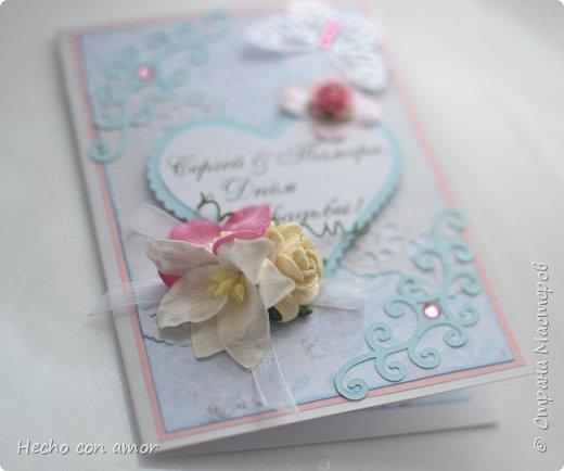 Сначала свадебные открытки Эта моя любимая:))) фото 7