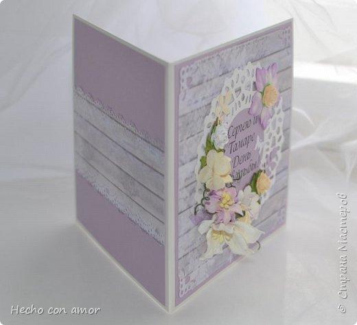 Сначала свадебные открытки Эта моя любимая:))) фото 5