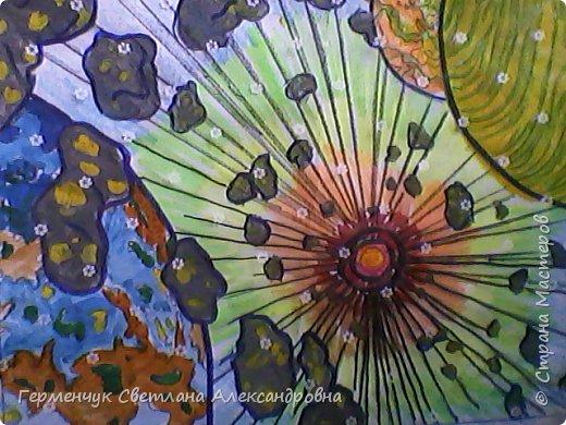 "Раскраски -фантазии на тему ""Космос"" -  ребят 4""В"" класса  ко Дню Космонавтики.  Веселый Гуманоид фото 11"