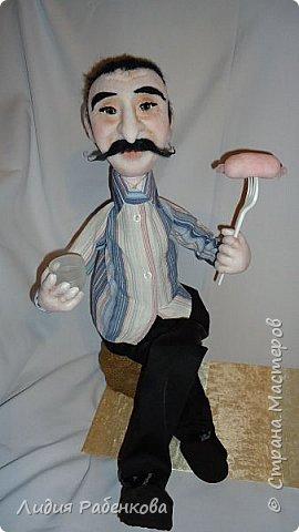 Шаржевая кукла мини-бар с портретным сходством  фото 2