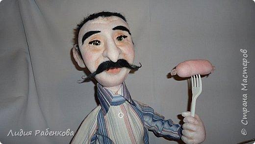 Шаржевая кукла мини-бар с портретным сходством  фото 3