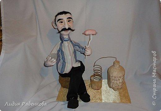 Шаржевая кукла мини-бар с портретным сходством  фото 1