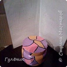 Вот такая баночка получилась по МК Сергеича, он делал бутылочку-я решила сделать баночку фото 4