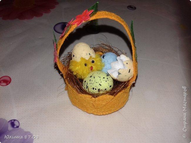 Корзиночки с цыплятками фото 2