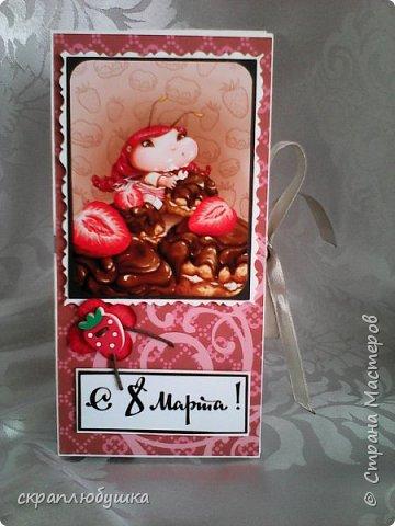 В стране мастеров видела шоколадницы с такими милыми феечками у мастериц, к сожалению не могу сказать как их зовут (прошу прощения). Захотелось тоже попробовать сделать и вот что у меня получилось. фото 8