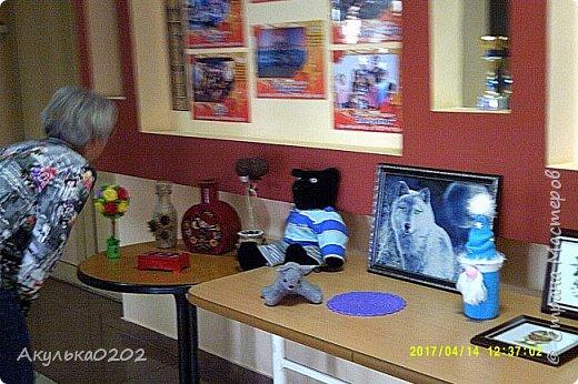 Всем большой привет!!! Сегодня состоялась вторая наша с сыном персональная выставка!!!Параллельно с нашей, была художественная выставка семьи Кулеевых. фото 3