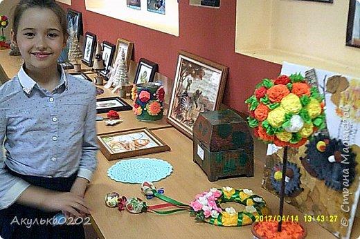 Всем большой привет!!! Сегодня состоялась вторая наша с сыном персональная выставка!!!Параллельно с нашей, была художественная выставка семьи Кулеевых. фото 21