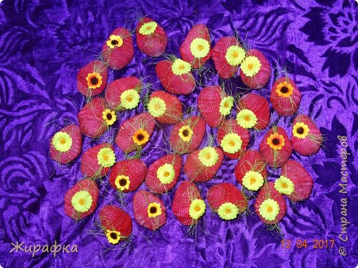 Пасхальные яйца для подарков. фото 1
