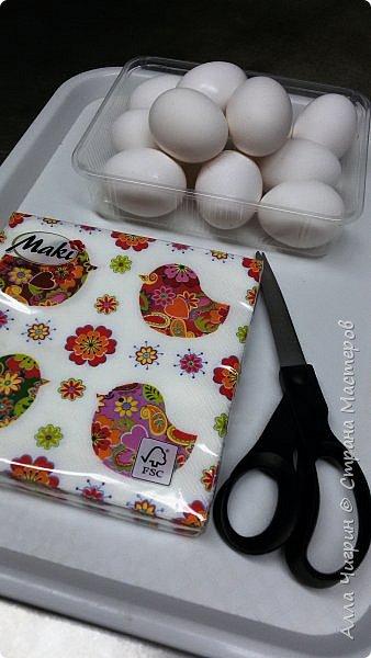 Всем доброго времени суток! Вчера был Чистый Четверг, и по традиции, нужно было красить яйца. В этом году я решила разнообразить традиционные яйца с яйцами в технике декупаж.  фото 2