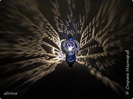 """Здравствуйте Мастера)))) Наконец то я """"добила"""" этот светильник. Сама не представляла конечный результат. фото 16"""