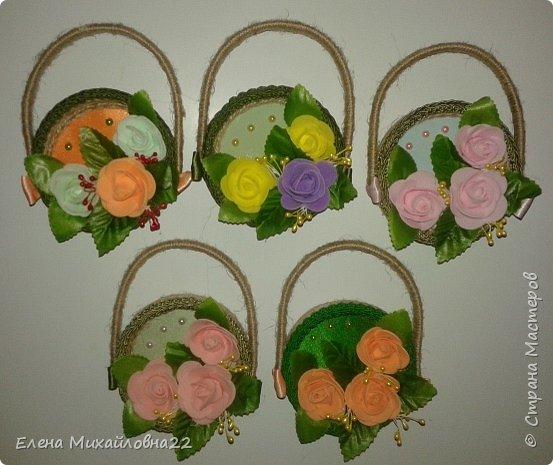 """Вот такие магнитики -сувенирчики """"Дамская сумочка """" в разрезе  получились... почти из ничего... на самом деле смотрятся очень эффектно за счет углубления крышечки и объемности цветов.... фото 15"""
