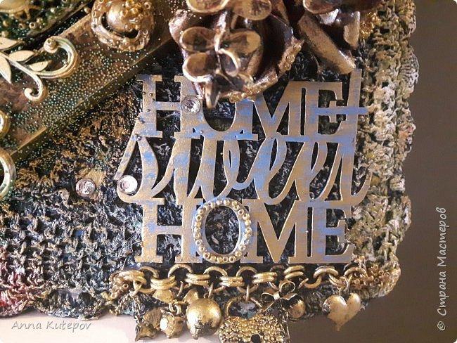 """Панно: """"Home sweet home"""". Подарок на новоселье. фото 7"""
