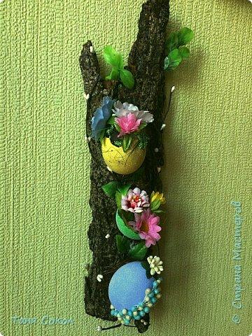 И вот расцвела еще одна деревяшка к Пасхальному празднику..)) фото 1