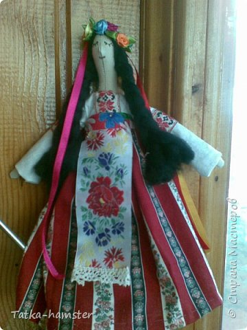 "Кукла ""Украинка"" в стиле тильда фото 1"