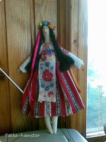 "Кукла ""Украинка"" в стиле тильда фото 2"