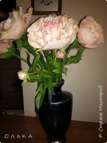 2 в одном)) и цветы , и ваза фото 2