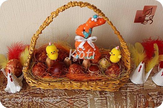 Всех с наступающим праздником Пасхи! Хочу поделиться поделками, которые сделала к этому дню. фото 3