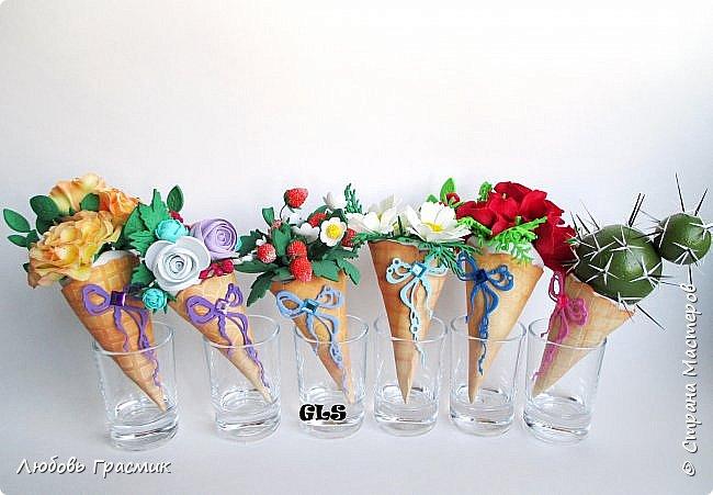 Мороженки-магниты из фома фото 1