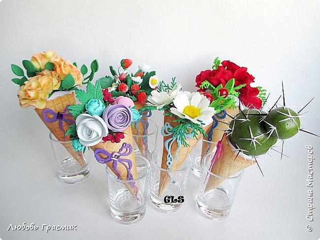 Мороженки-магниты из фома фото 2