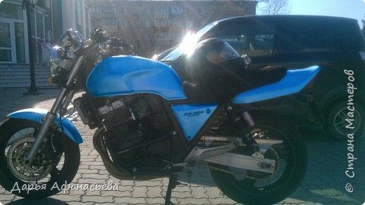 Это и есть его замечательный мотоцикл Honda CB 400 version S  фото 4