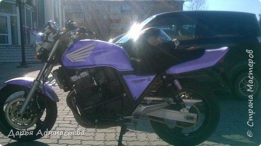 Это и есть его замечательный мотоцикл Honda CB 400 version S  фото 5
