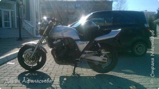 Это и есть его замечательный мотоцикл Honda CB 400 version S  фото 2