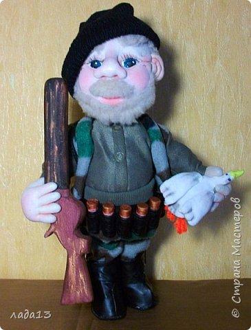 Здравствуй Страна,давно не выставляла свои работы-исправляюсь:молодой домовичек с сушками в ручках. фото 4