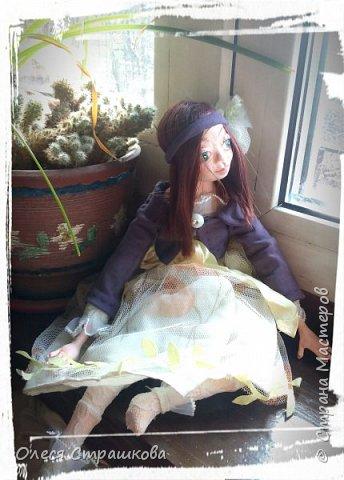 Куколки, куколки, куколки!!!!!!!! Скоро захватят весь дом!!! Никак не могу остановиться!  Вот такое чудо появилось на свет  в апреле!!!  Полинка!!!  Весьма подвижная особа. фото 3
