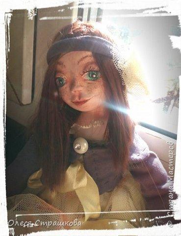 Куколки, куколки, куколки!!!!!!!! Скоро захватят весь дом!!! Никак не могу остановиться!  Вот такое чудо появилось на свет  в апреле!!!  Полинка!!!  Весьма подвижная особа. фото 5