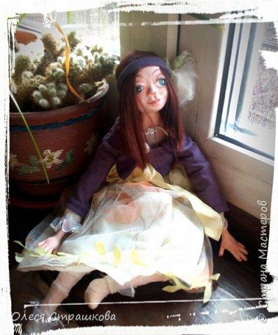 Куколки, куколки, куколки!!!!!!!! Скоро захватят весь дом!!! Никак не могу остановиться!  Вот такое чудо появилось на свет  в апреле!!!  Полинка!!!  Весьма подвижная особа. фото 6