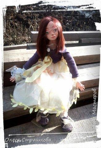 Куколки, куколки, куколки!!!!!!!! Скоро захватят весь дом!!! Никак не могу остановиться!  Вот такое чудо появилось на свет  в апреле!!!  Полинка!!!  Весьма подвижная особа. фото 7