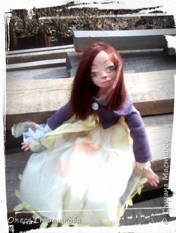 Куколки, куколки, куколки!!!!!!!! Скоро захватят весь дом!!! Никак не могу остановиться!  Вот такое чудо появилось на свет  в апреле!!!  Полинка!!!  Весьма подвижная особа. фото 8