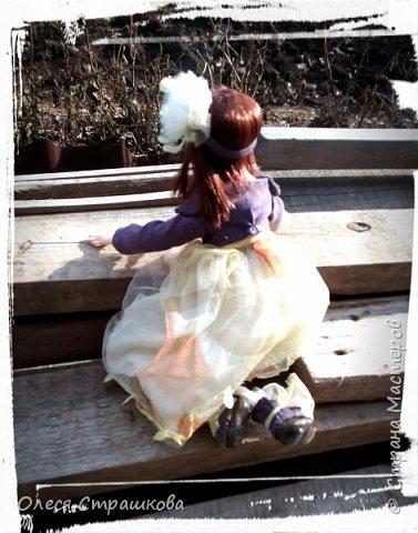Куколки, куколки, куколки!!!!!!!! Скоро захватят весь дом!!! Никак не могу остановиться!  Вот такое чудо появилось на свет  в апреле!!!  Полинка!!!  Весьма подвижная особа. фото 10