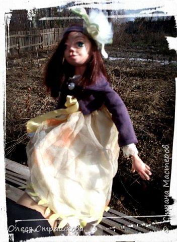 Куколки, куколки, куколки!!!!!!!! Скоро захватят весь дом!!! Никак не могу остановиться!  Вот такое чудо появилось на свет  в апреле!!!  Полинка!!!  Весьма подвижная особа. фото 11