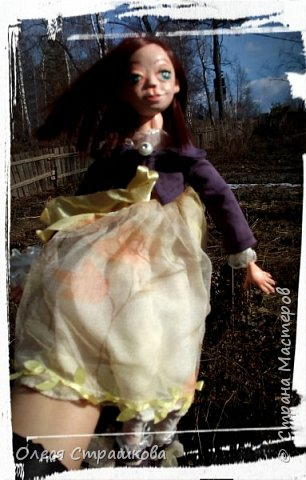 Куколки, куколки, куколки!!!!!!!! Скоро захватят весь дом!!! Никак не могу остановиться!  Вот такое чудо появилось на свет  в апреле!!!  Полинка!!!  Весьма подвижная особа. фото 12