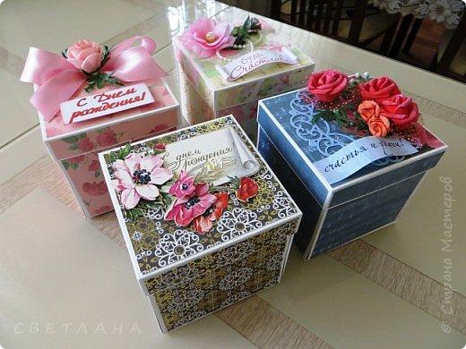 Покажу некоторые  коробочки ,  т.н.  мэджик боксы или коробочки с  сюрпризом,  денежным, разумеется... фото 1