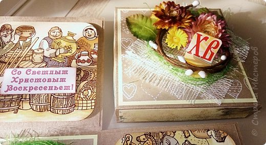 Вот  так выглядит пасхальная коробочка,  поздравить  кого-нибудь  из  близких... фото 4
