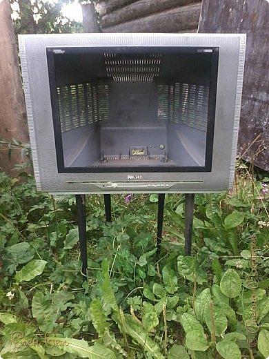 Был на даче старый телевизор, давно ничего не показывал, а теперь в нем всегда прграмма про букеты фото 3