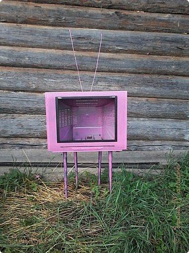 Был на даче старый телевизор, давно ничего не показывал, а теперь в нем всегда прграмма про букеты фото 5