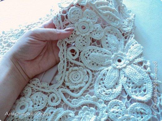 """Платье """"Нежность"""" в технике ирландского кружева. Авторская работа. фото 1"""