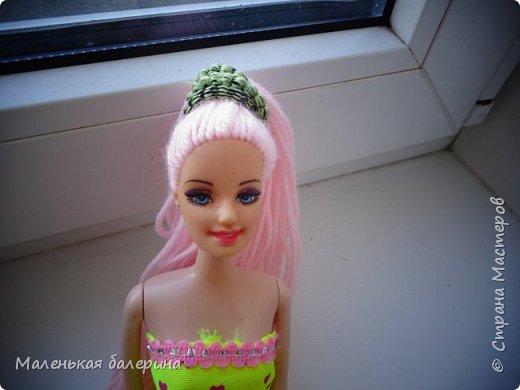 """Всем привет,сегодня я делаю серию МК """"Принцесса""""№1 Причёска,вот такая должна получится)) фото 3"""