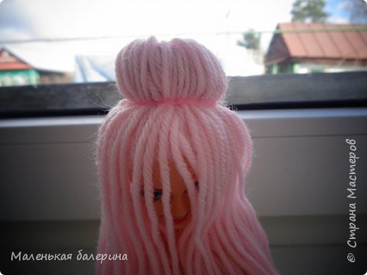 """Всем привет,сегодня я делаю серию МК """"Принцесса""""№1 Причёска,вот такая должна получится)) фото 6"""