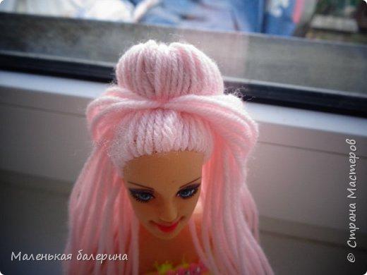 """Всем привет,сегодня я делаю серию МК """"Принцесса""""№1 Причёска,вот такая должна получится)) фото 7"""
