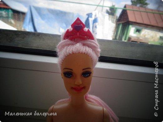 """Всем привет,сегодня я делаю серию МК """"Принцесса""""№1 Причёска,вот такая должна получится)) фото 9"""